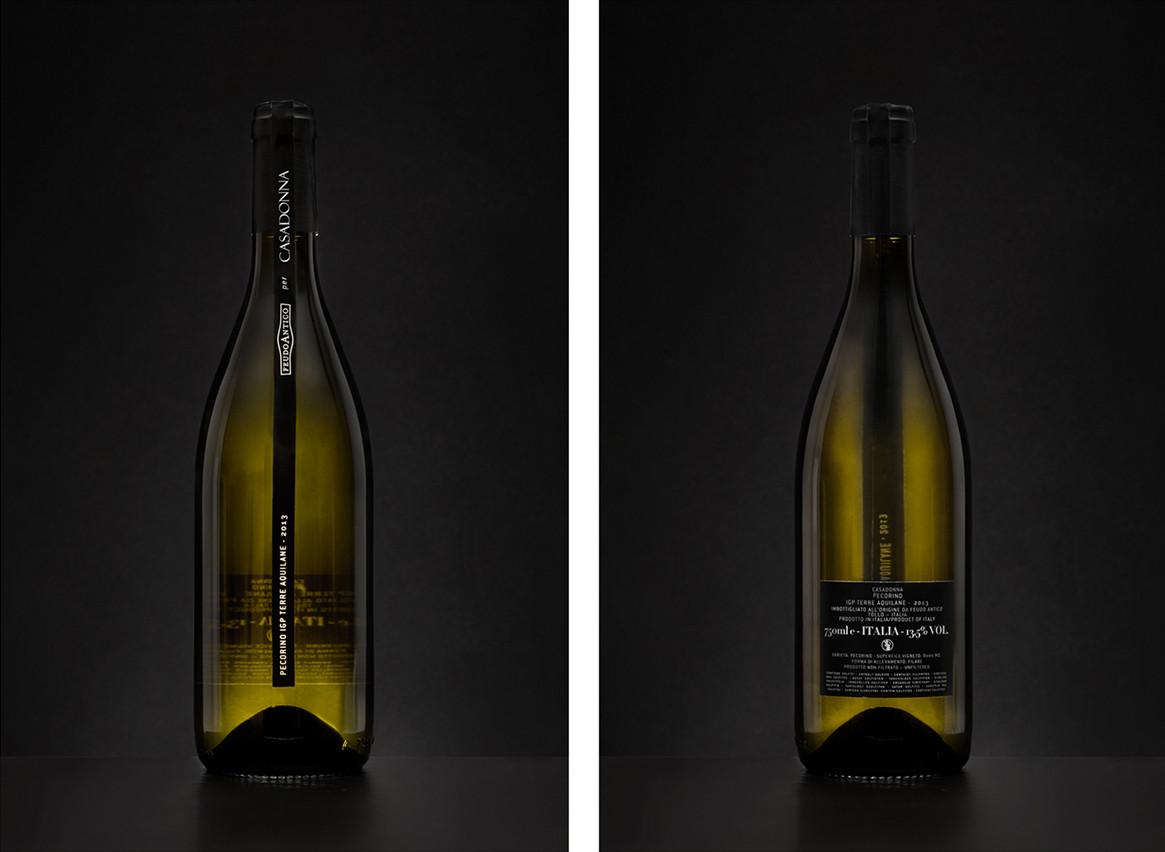 Casadonna Bottle design by Oriana di Stefano
